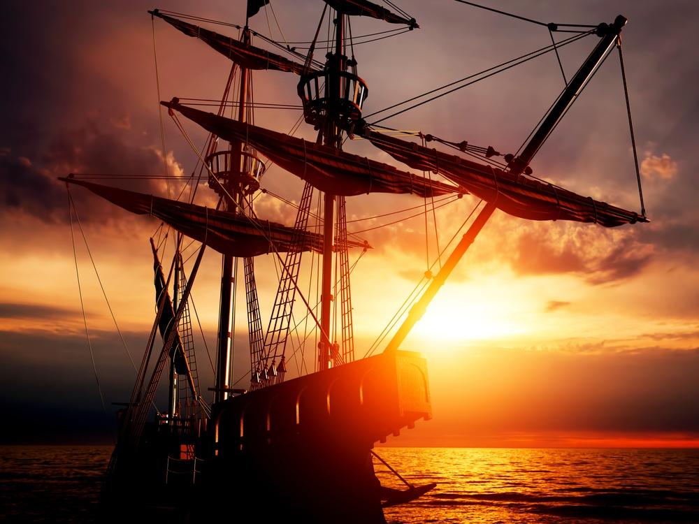 sonhar com barco pirata