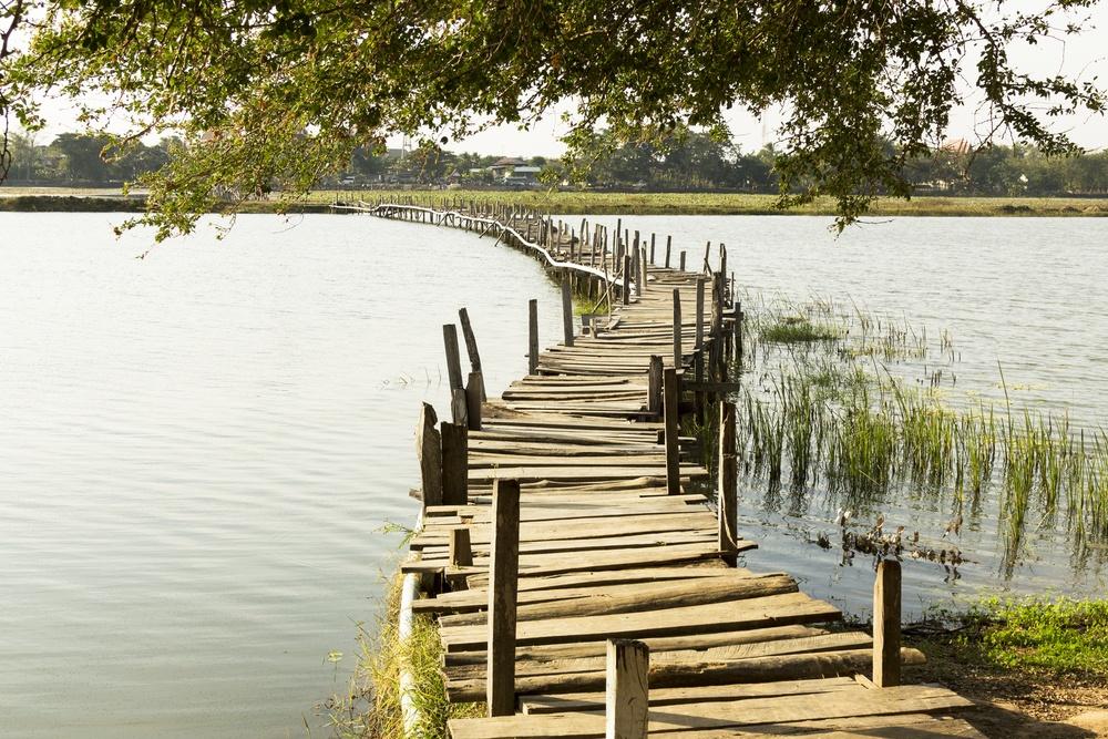 sonhar com ponte de madeira