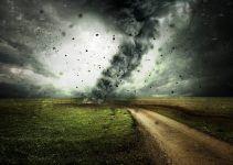 sonhar com furacão