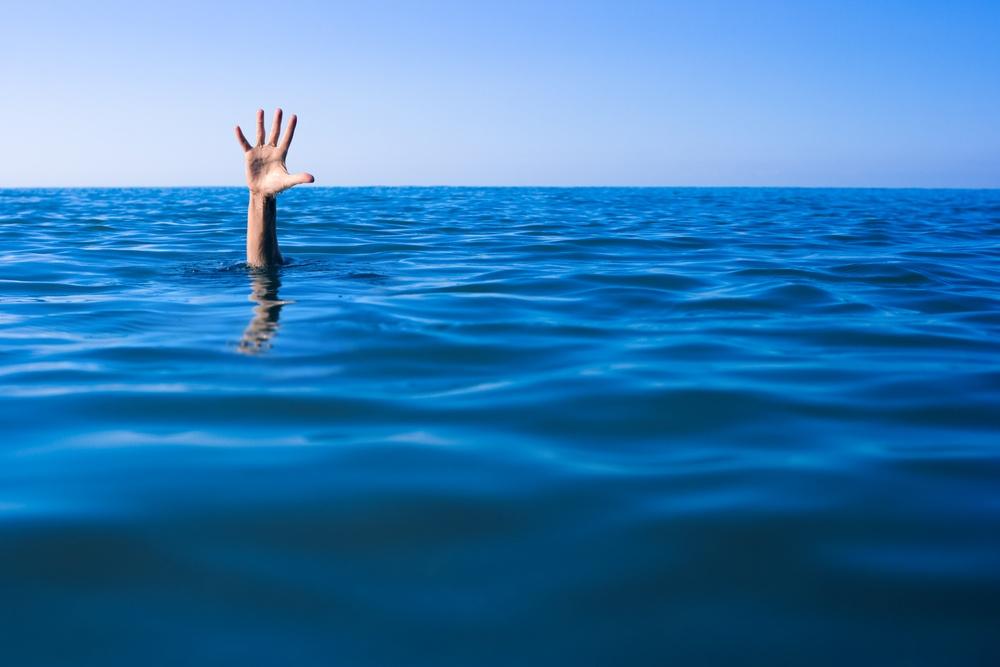 sonhar que está se afogando