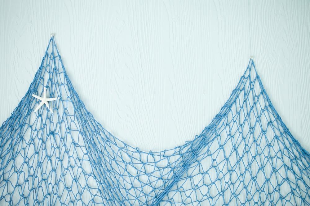 sonhar pescando com rede