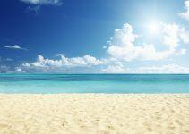sonhar com areia da praia