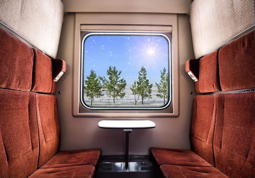 sonhar que está em um trem