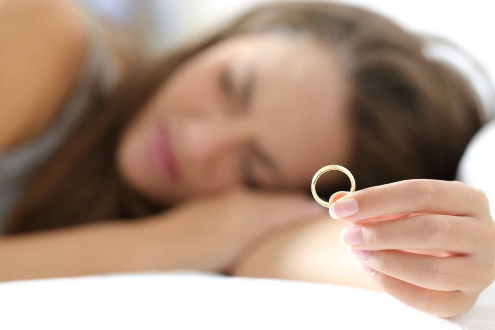 sonhar com separação de casamento