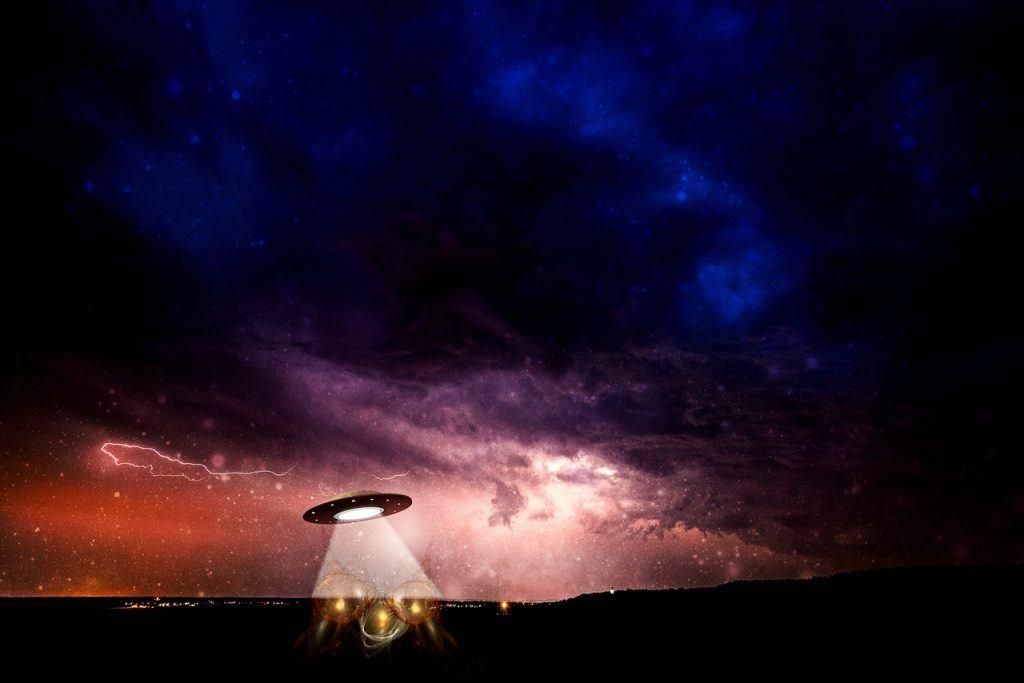 sonhar que vê um disco voador
