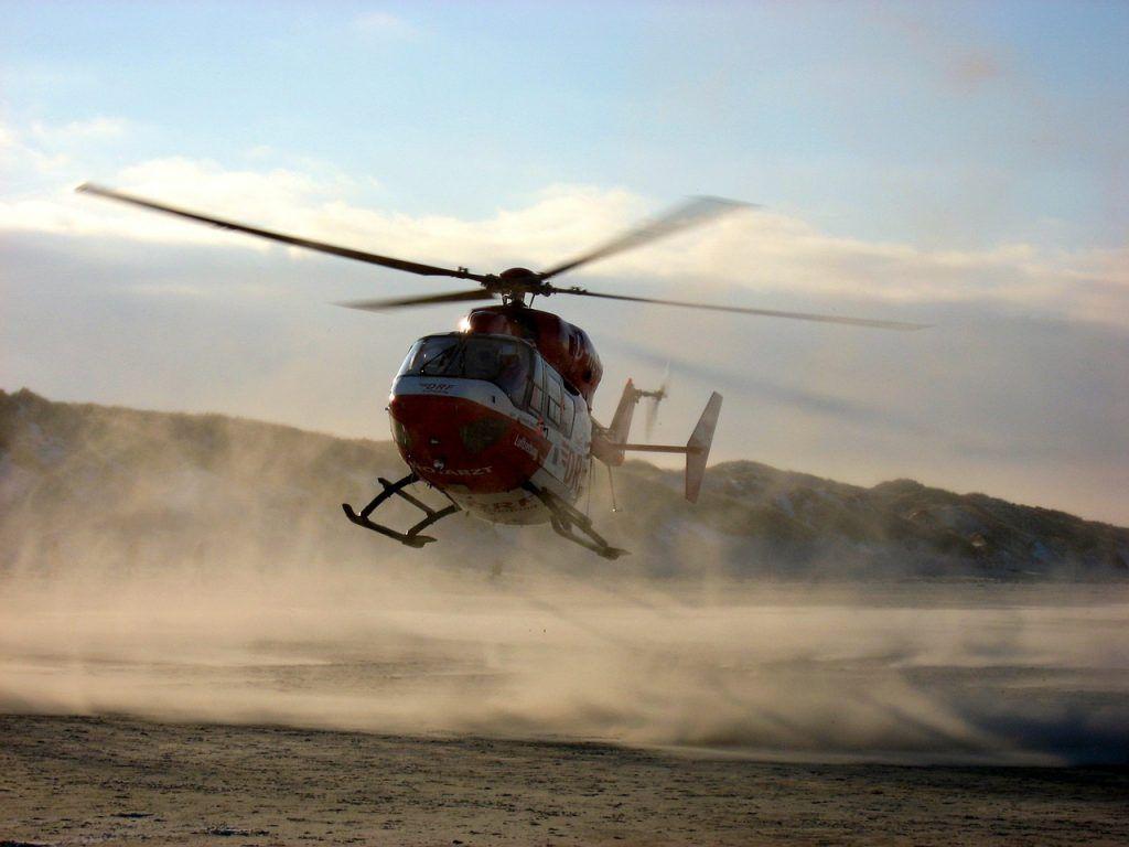 sonhar que vê um helicóptero