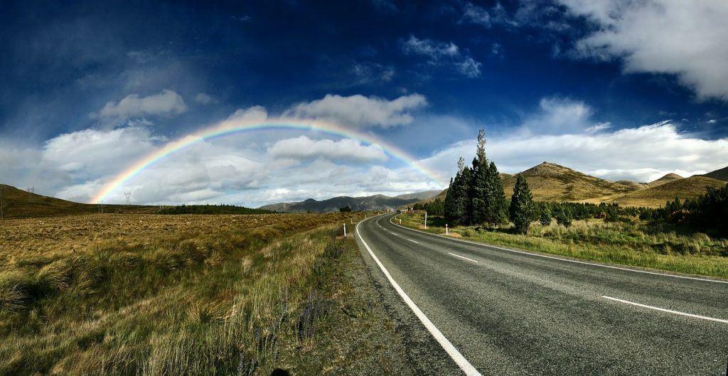 sonhar com arco-íris