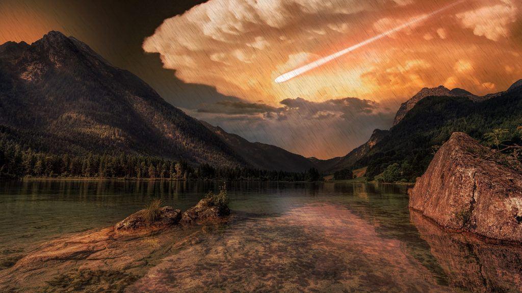 sonhar com fim do mundo pela terra