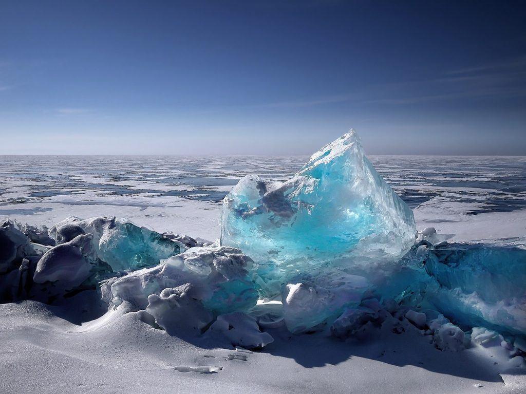 Sonhar que vê gelo
