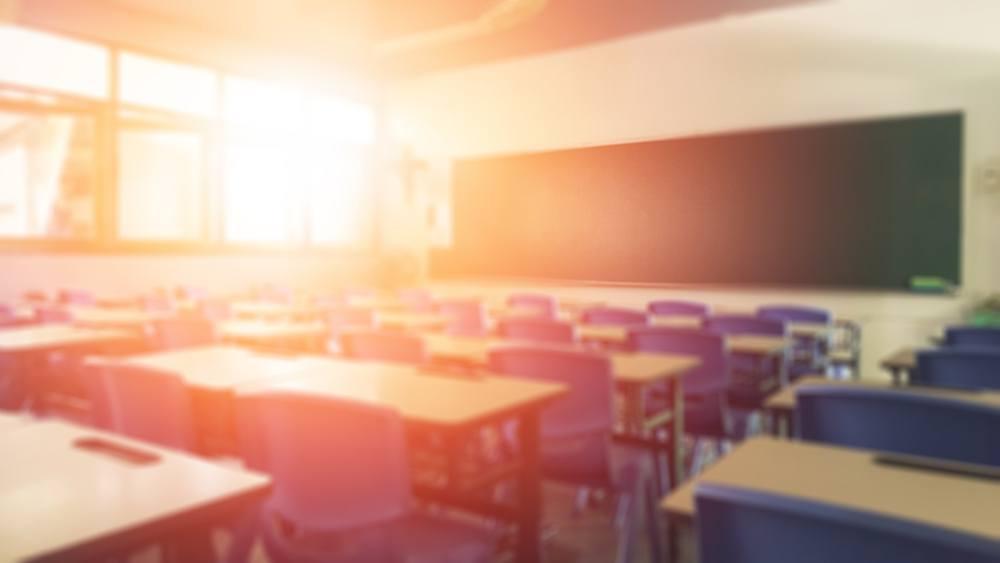 Sonhar que está em uma sala de aula