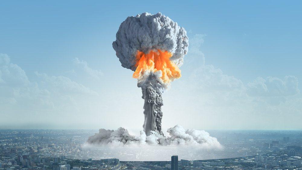 Sonhar com bomba explodindo