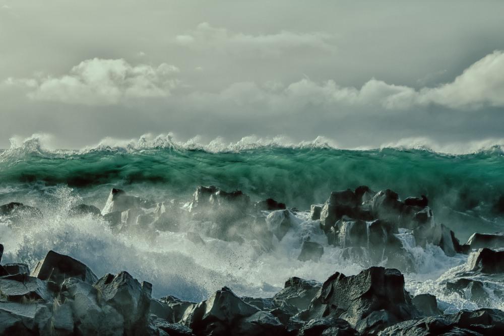 Sonhar que vê um tsunami
