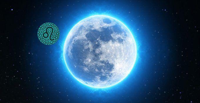 características da lua em leão