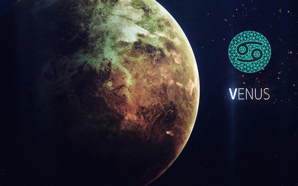 características de vênus em câncer