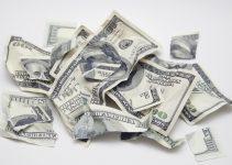 sonhar com dinheiro rasgado